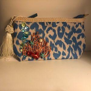 Custom embellished small bag